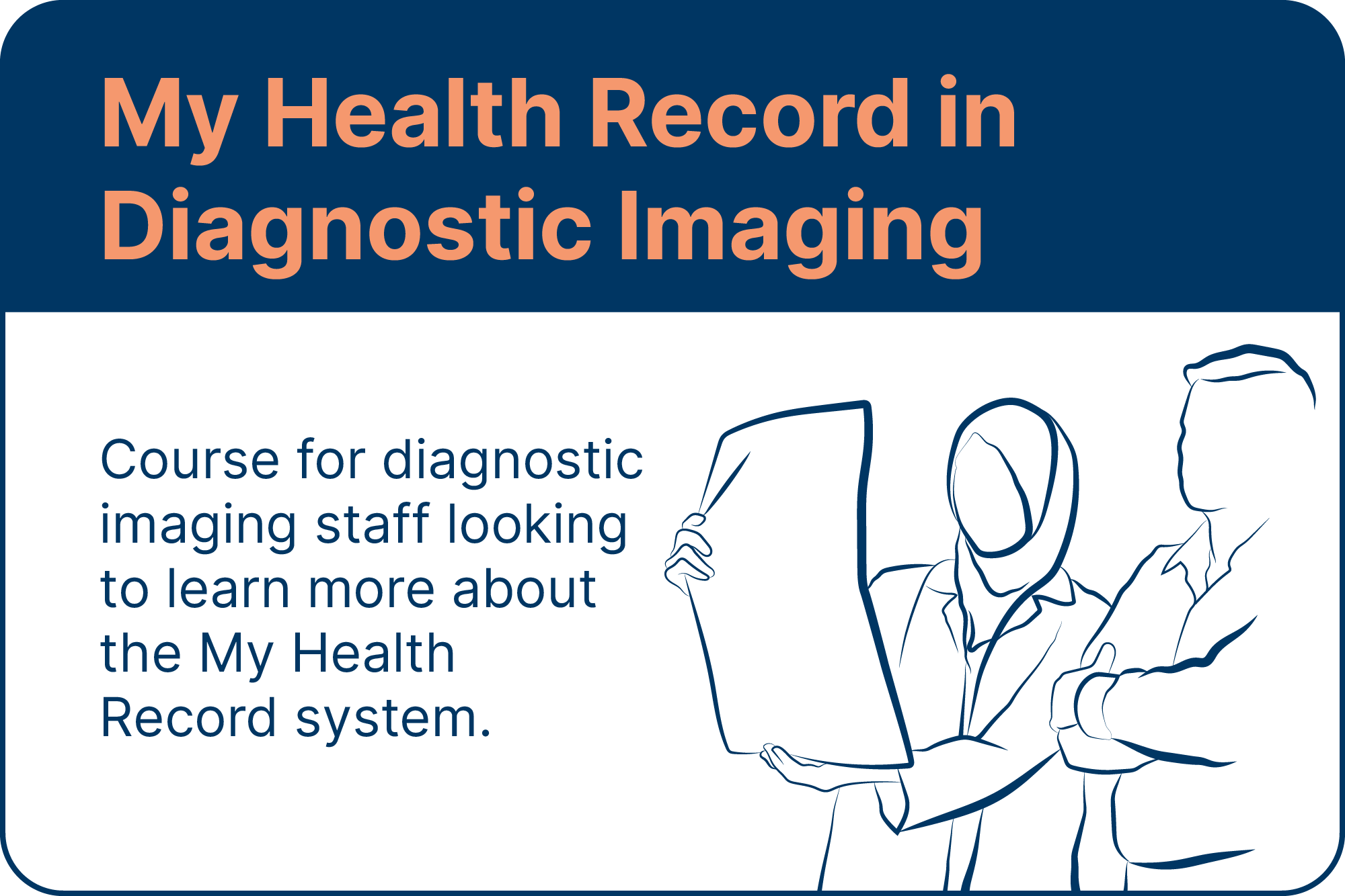 My health record in diagnostic imaging