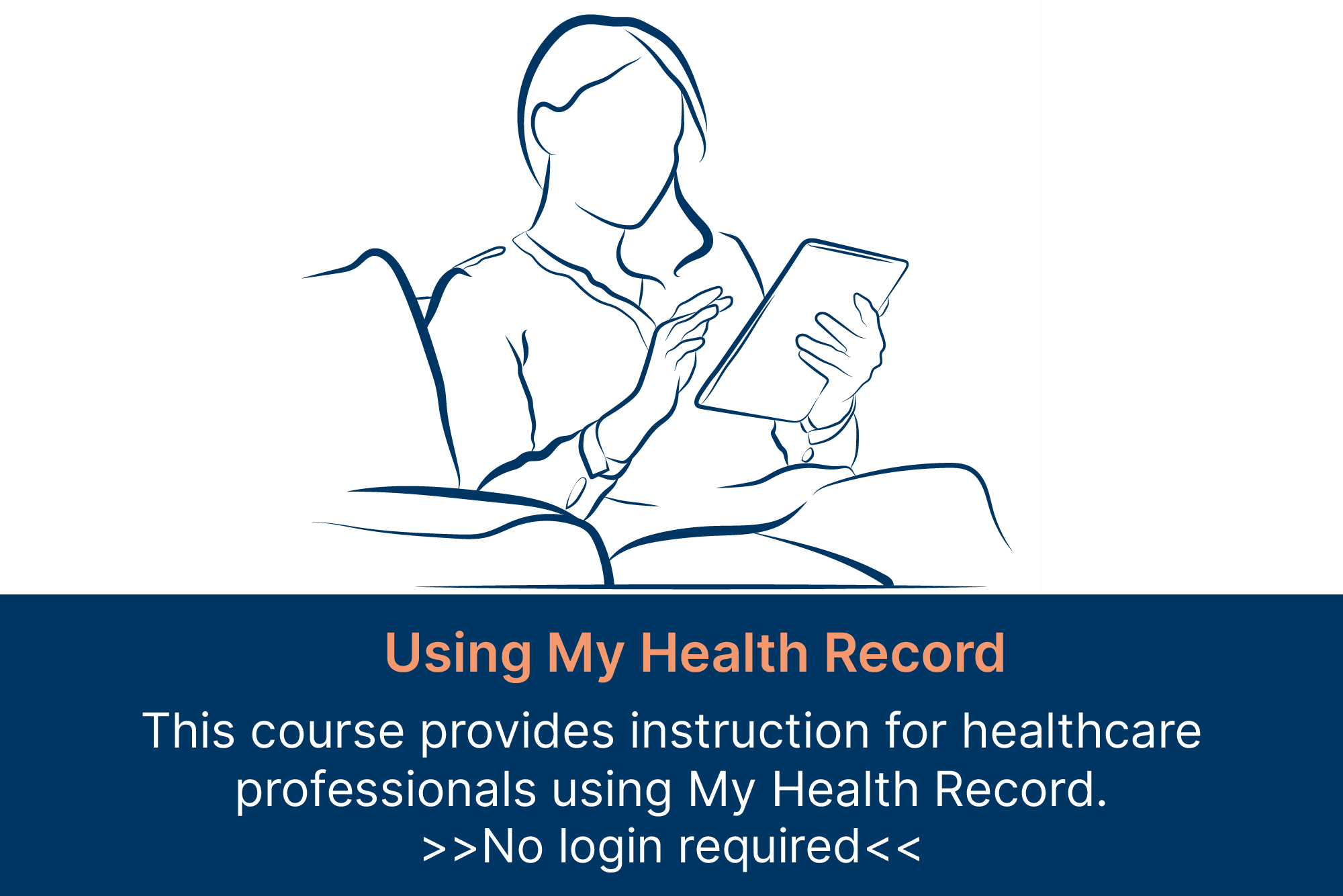 using my health record